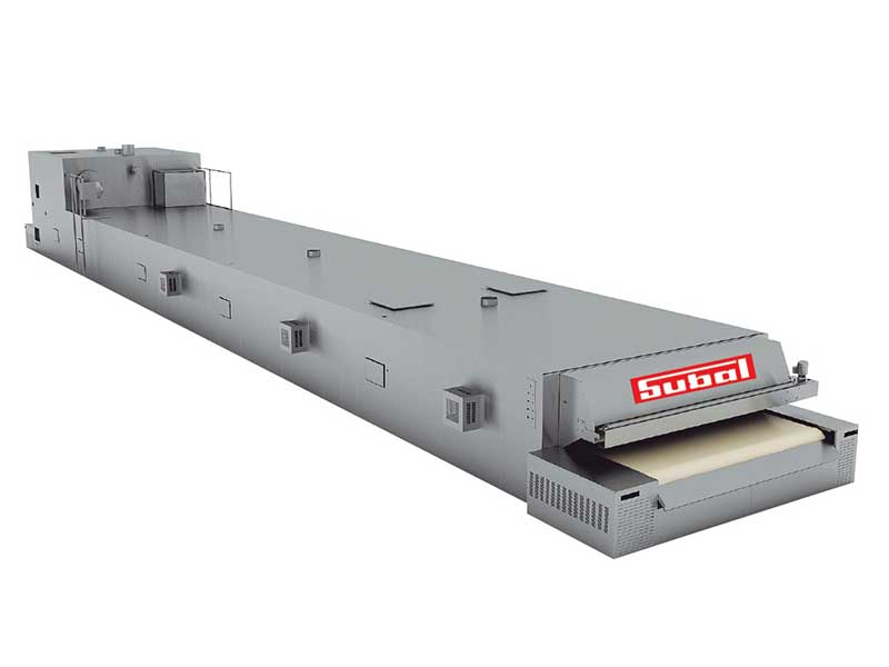 Horno de Tunel modelo subalmac Subal